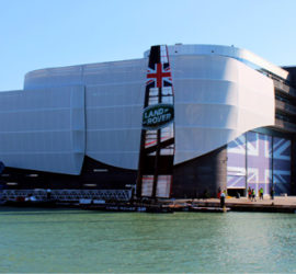 The Ben Ainslie HQ building