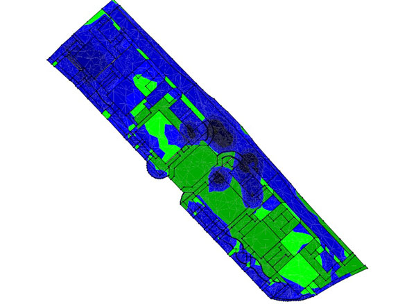 Cut and fill modelling for Drivepoint Contractor