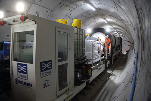 Crossrail Tunnel fit out