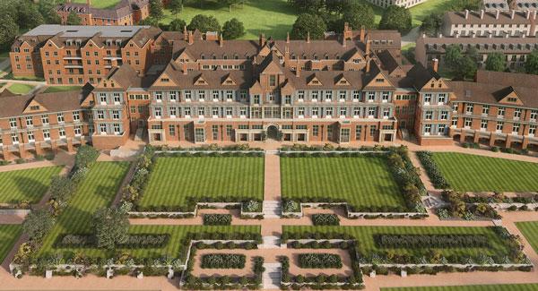 King Edwards VIII Estate, Midhurst (artist's rendering)