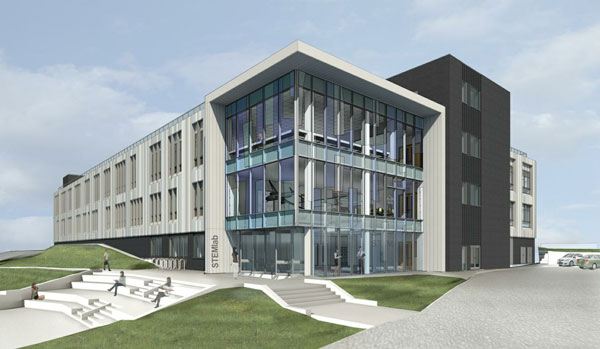 Loughborough Uni STEM Building CGI image