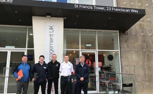 Sittingbourne Memorial Hospital team with Oander staff