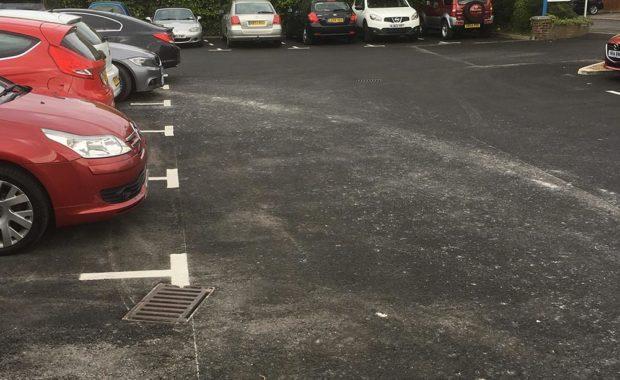 Lee On Solent car park