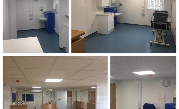 Weybridge Health Service interior photos
