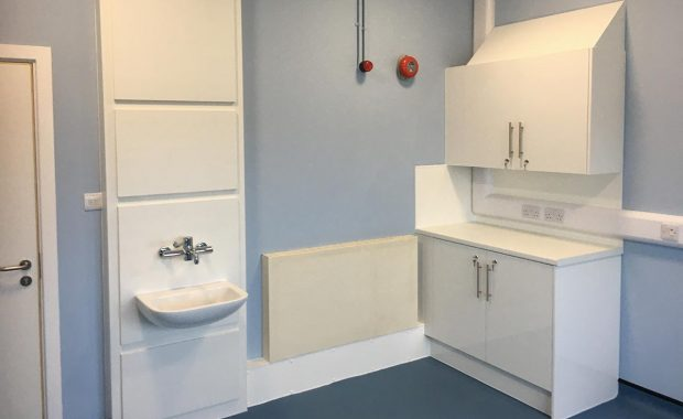One of the refurbished treatment rooms at Herne Bay Hospital